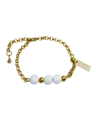 Lady Bella - Bracelet Brass