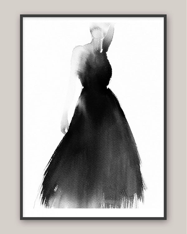 Lady In Black - Poster