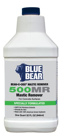 500MR: Mastic Remover For Concrete (BEAN-e-doo)