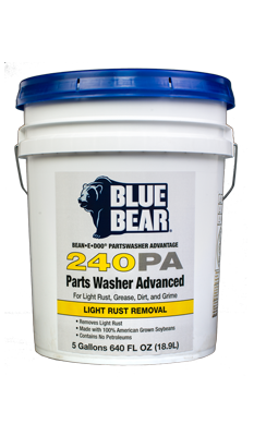240PA: Parts Washer With Light Rust Remover