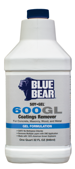 600GL: Coatings Remover (Soy Gel™)
