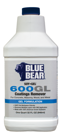 600GL: Coatings Remover (SOY-Gel)