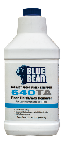 640TA: Low Maintenance VCT Tile Sealer Remover (TopAid)