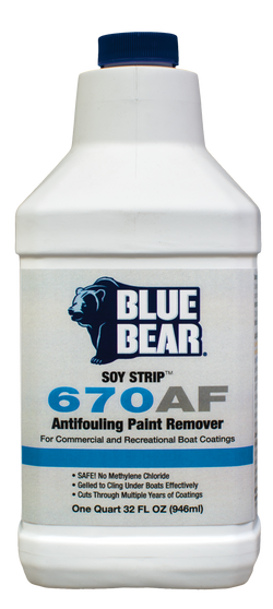 670AF: Anti-Fouling Paint Remover (SOY-STRIP)