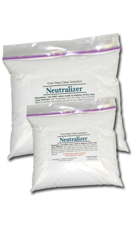 Neutralizer Powder (One Step Powder)