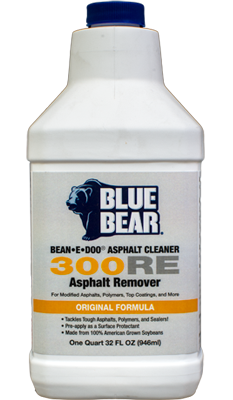 300RE: Asphalt Remover (BEAN-e-doo Asphalt Cleaner)