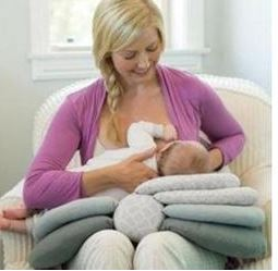"Alt=""nursing pillow multilayered """