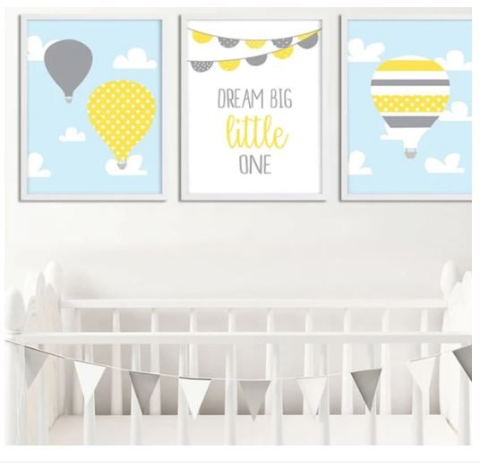 "Alt=""Wall hanging decor for nursery room"""