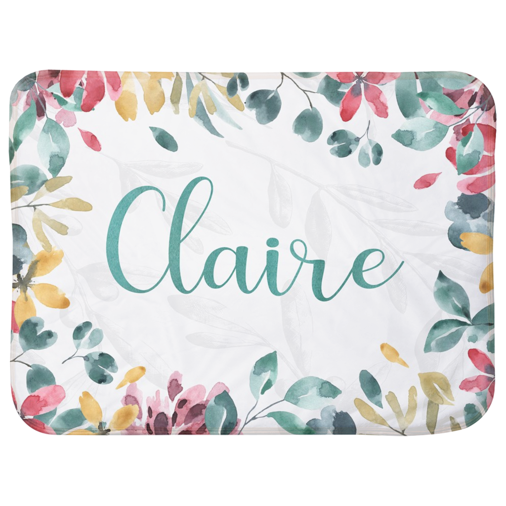 Personalized Name Premium Child and Baby Blanket