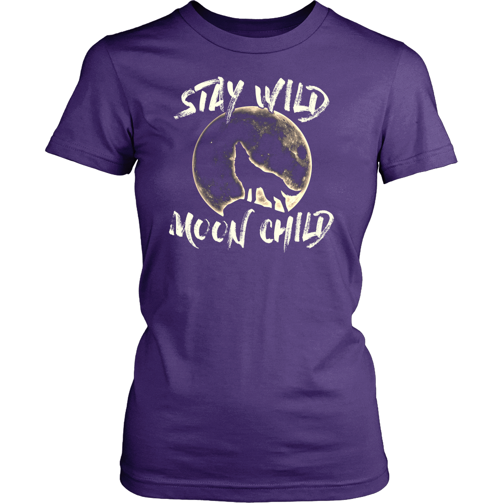 """Stay Wild Moon Child"" Shirt"