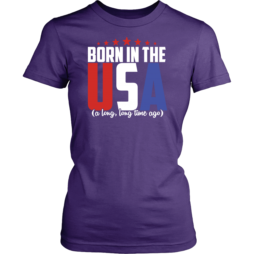 """BORN IN THE USA..."" SHIRT"