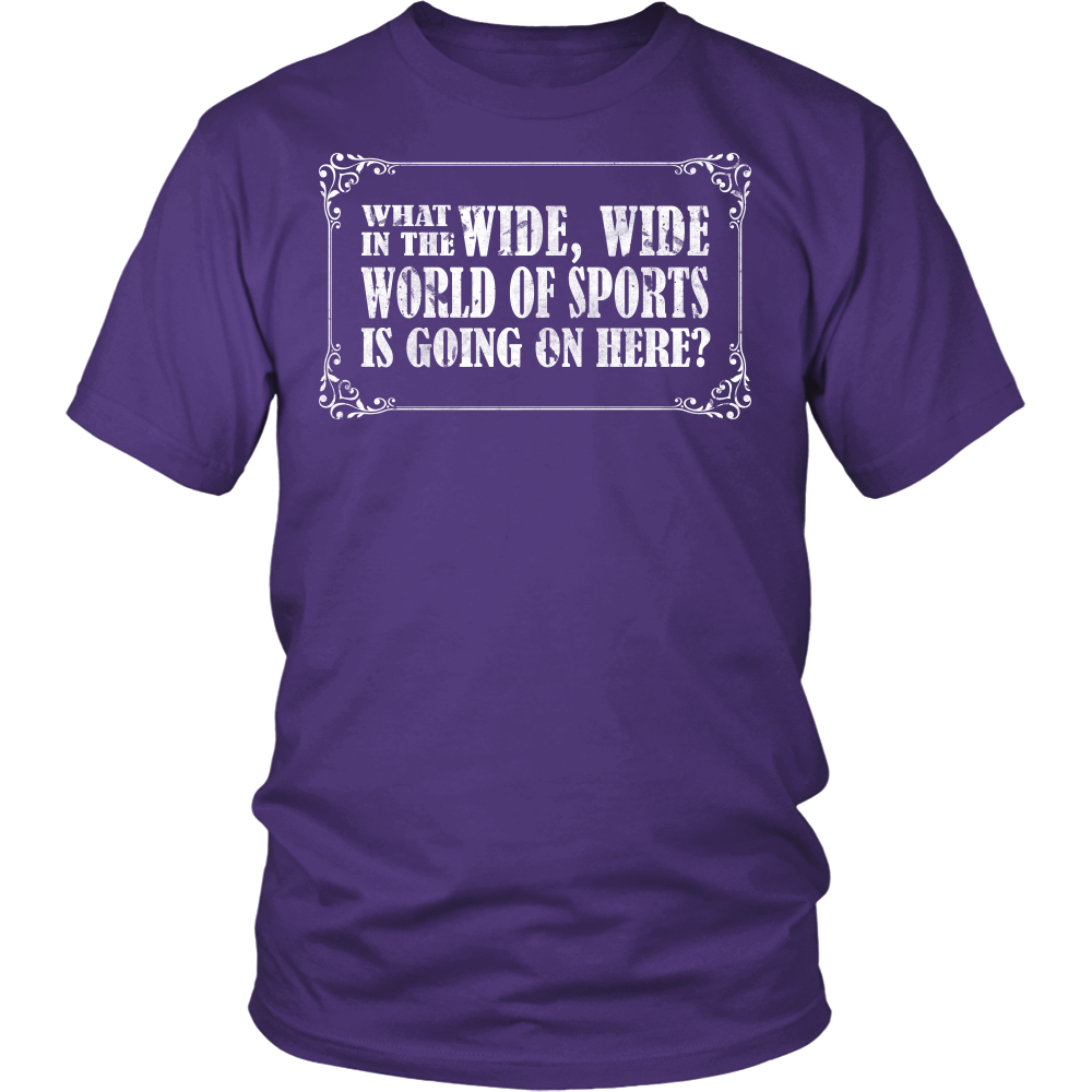 """Wide Wide World Of Sports"" Shirt"