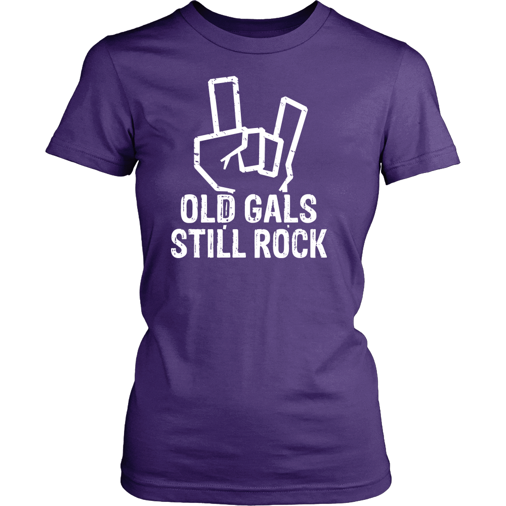 """Old Gals Still Rock."" Shirt"