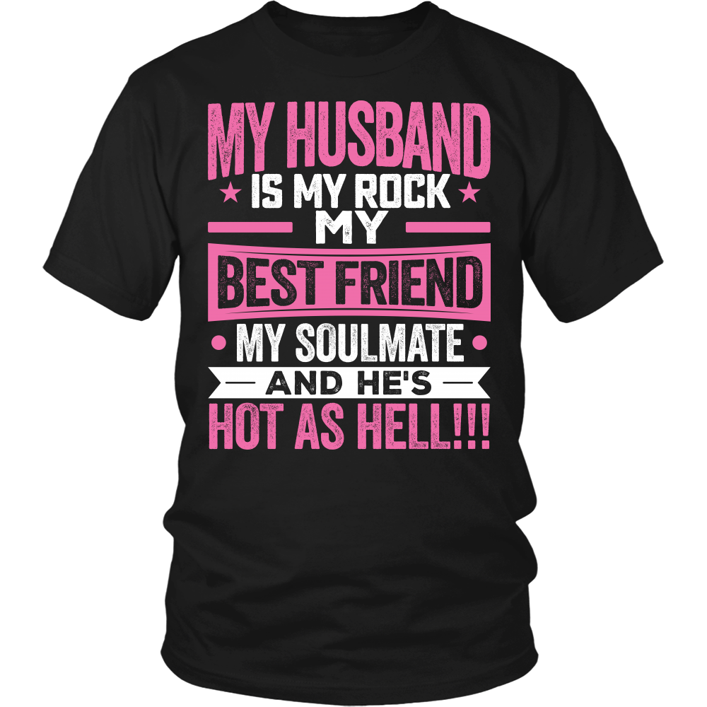 """My Husband Is My Rock"" Shirts"