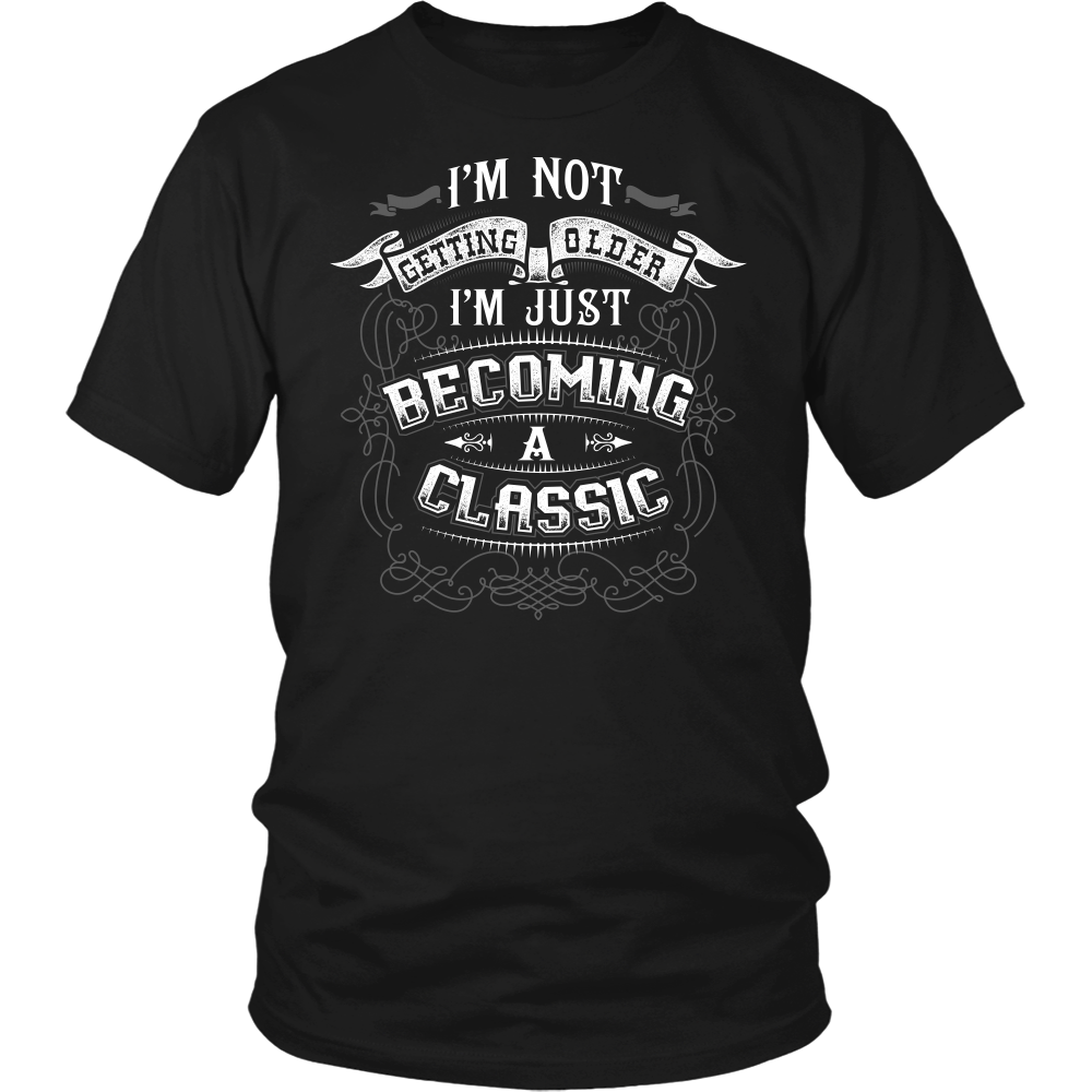 """BECOMING A CLASSIC"" SHIRT"