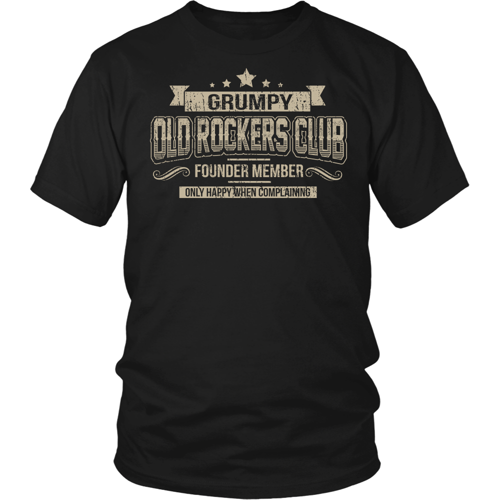 """OLD ROCKERS CLUB"" SHIRT"