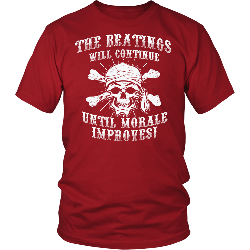 """Until Morale Improves"" Shirt"