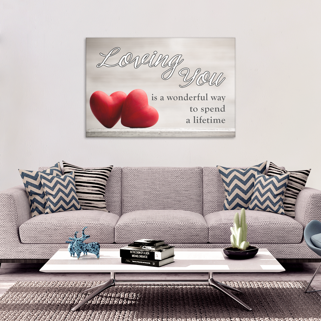 """Loving You"" Premium Canvas"