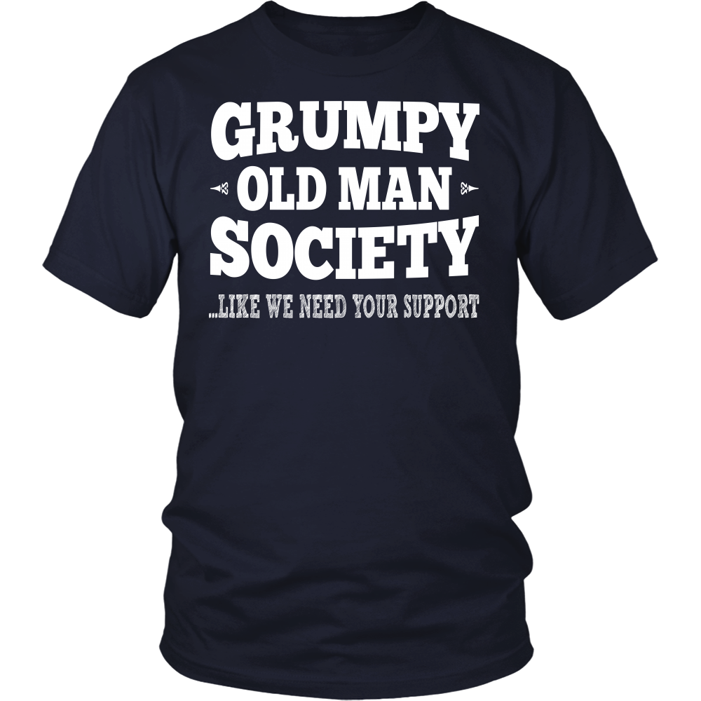 """GRUMPY OLD MAN SOCIETY"" SHIRT"