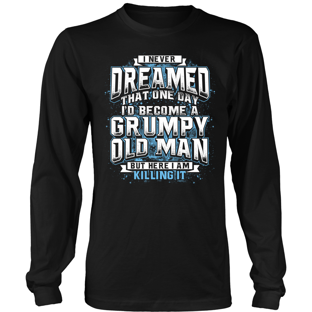 """GRUMPY OLD MAN"" SHIRT"