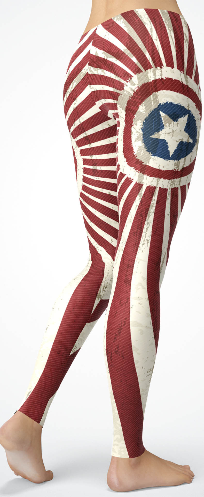 American Swirl Leggings