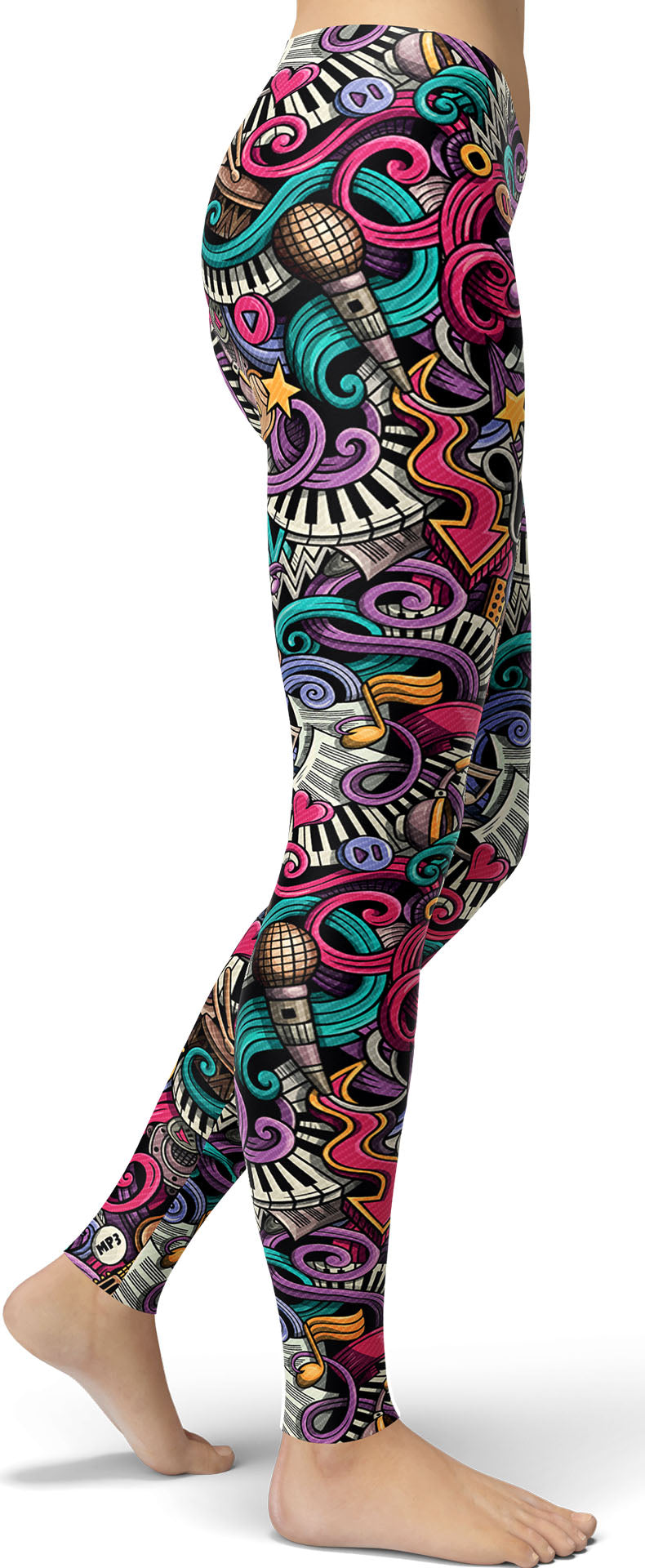 Music Teacher Leggings