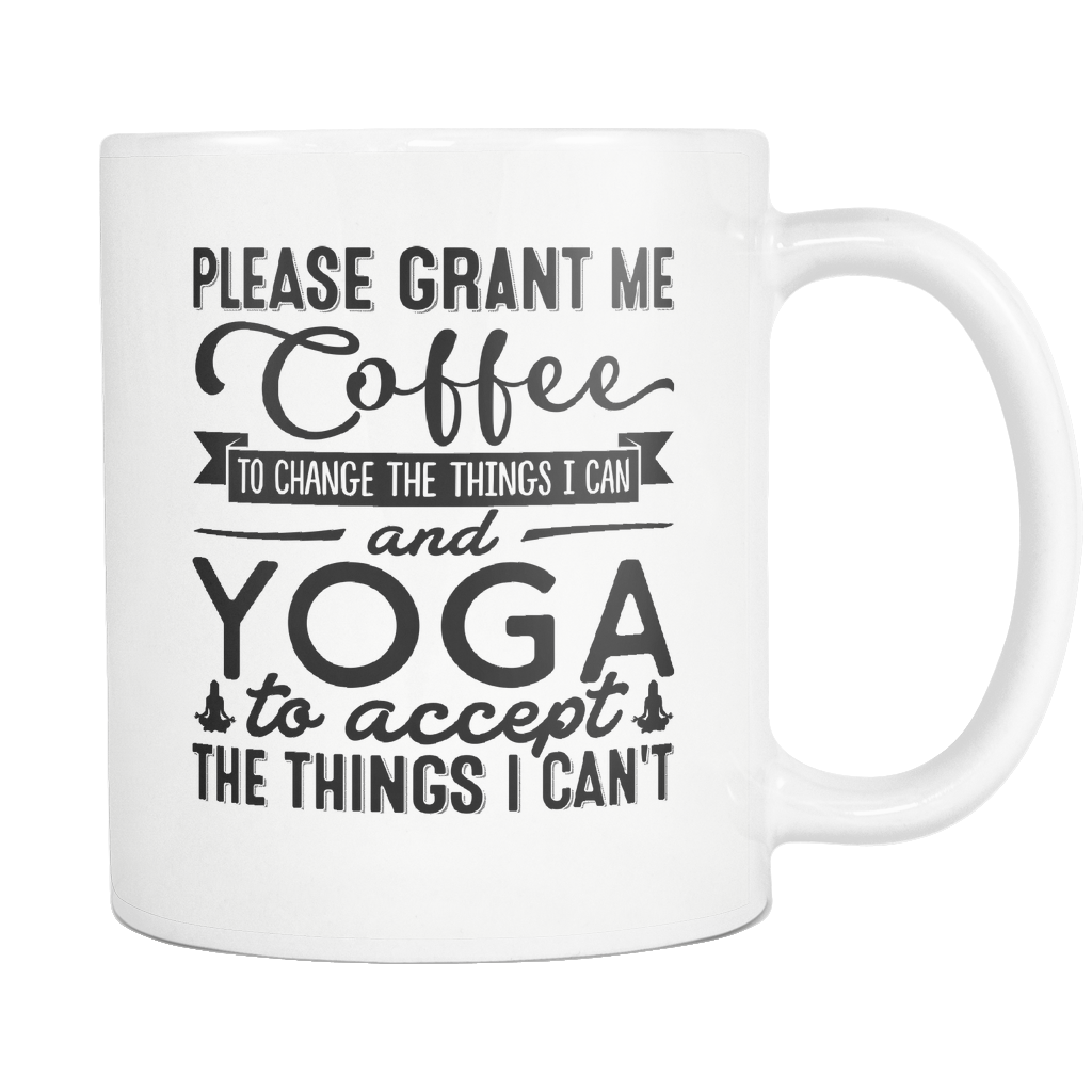 """Coffee And Yoga"" Mug"