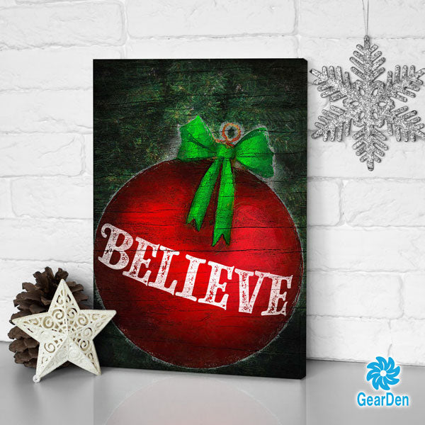 """BELIEVE"" Premium Canvas"