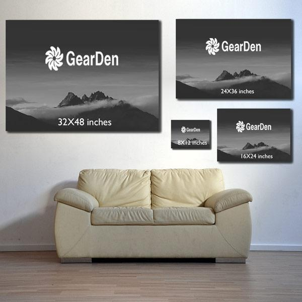 "Personalized ""God Blessed.. "" Premium Canvas"