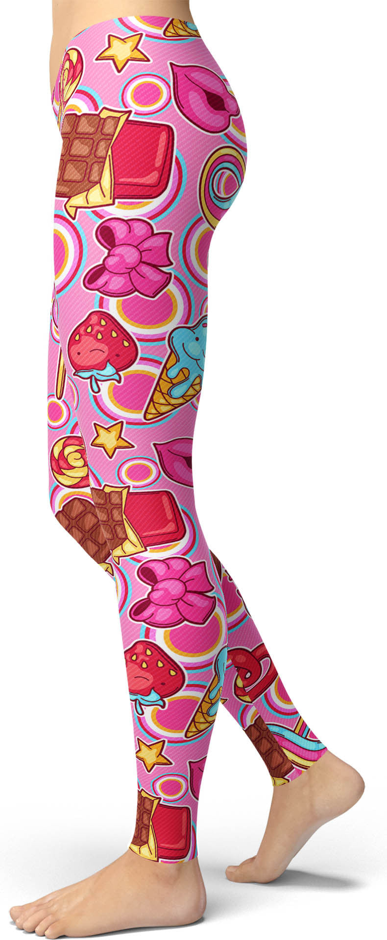 Pink Candy Leggings