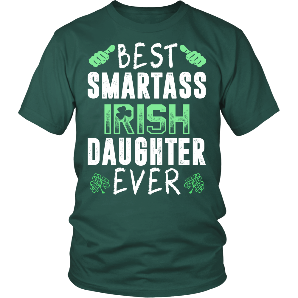 """BEST IRISH DAUGHTER EVER"" SHIRT"