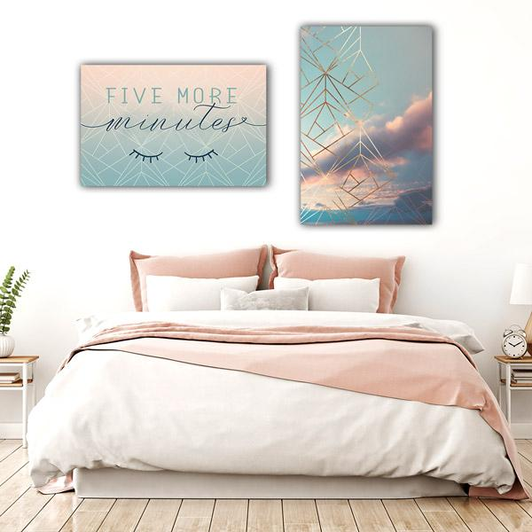 """Five More Minutes"" Premium Canvas"