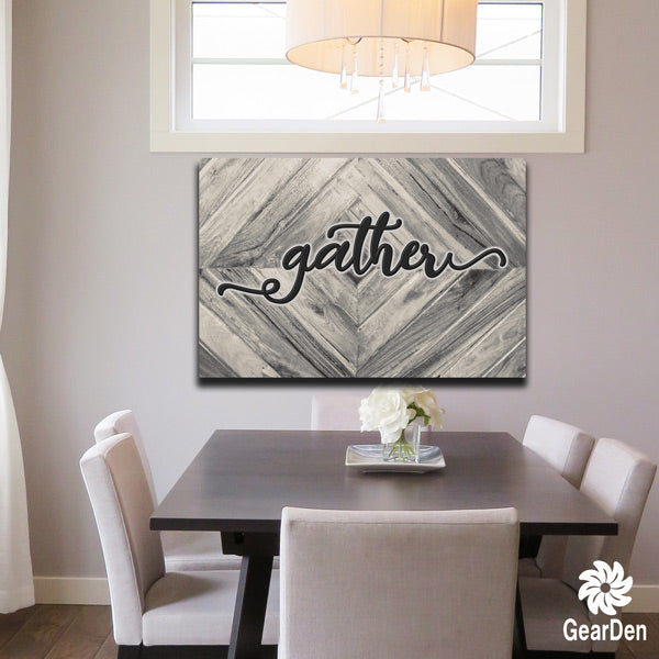 """Gather"" Premium Canvas"