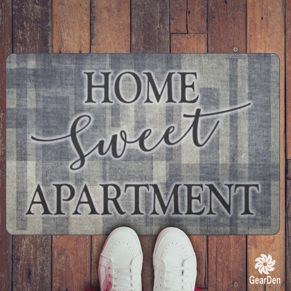 """Home Sweet Apartment"" Doormat"