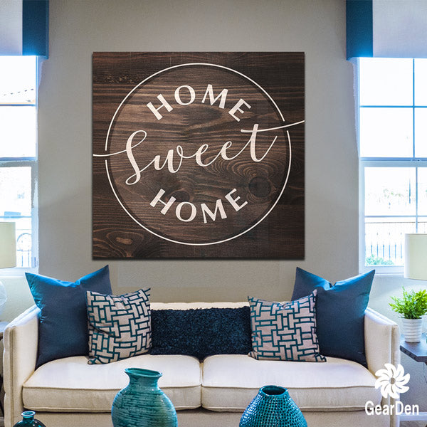 """Home Sweet Home"" Premium Canvas"