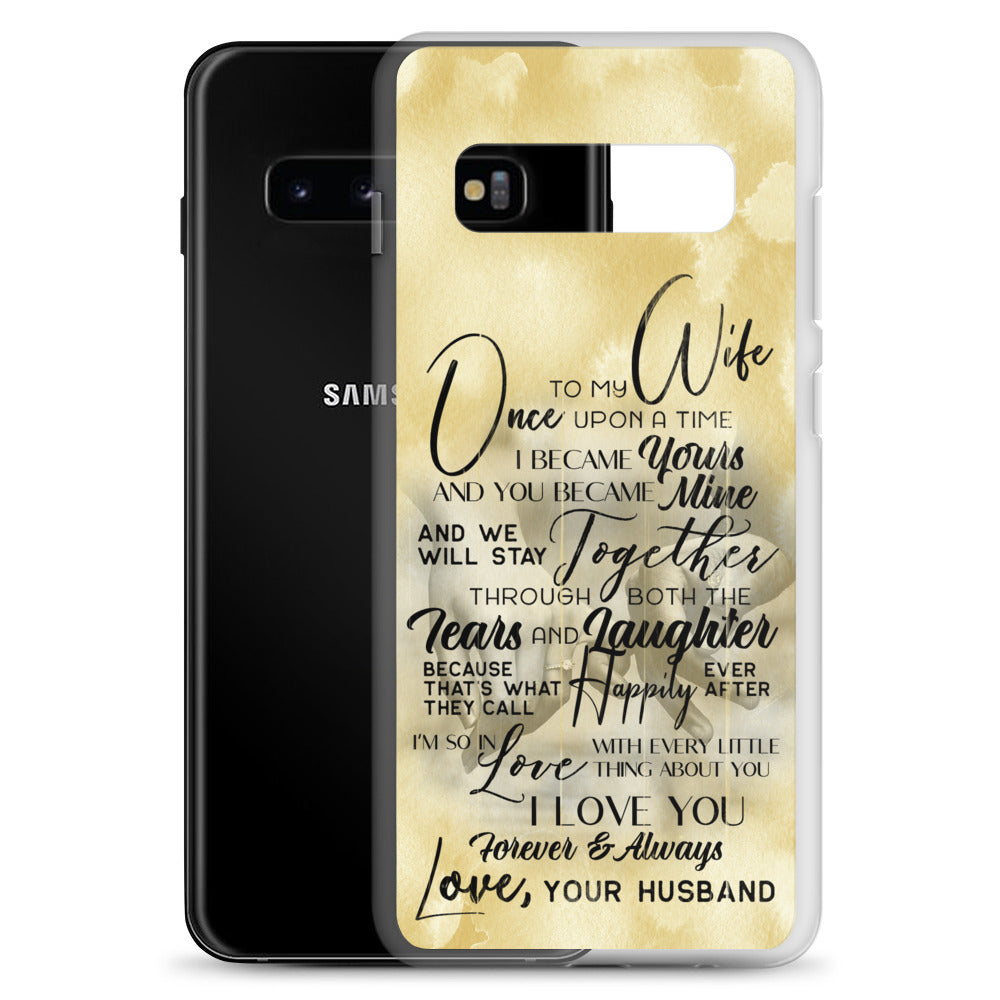"""To My Wife - Once Upon A Time.."" Phone Case"