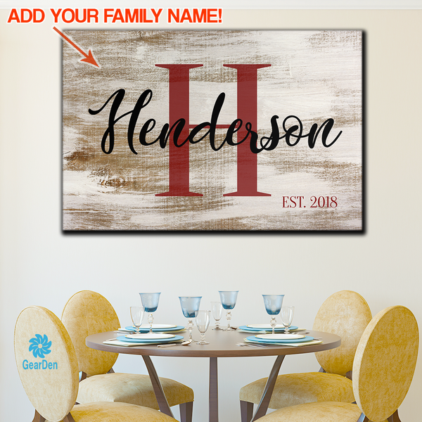 Introducing New Personalized Wall Decor Range On Gear Den Gearden