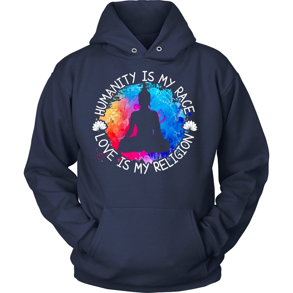 """Humanity is my Race.. "" Hoodie"