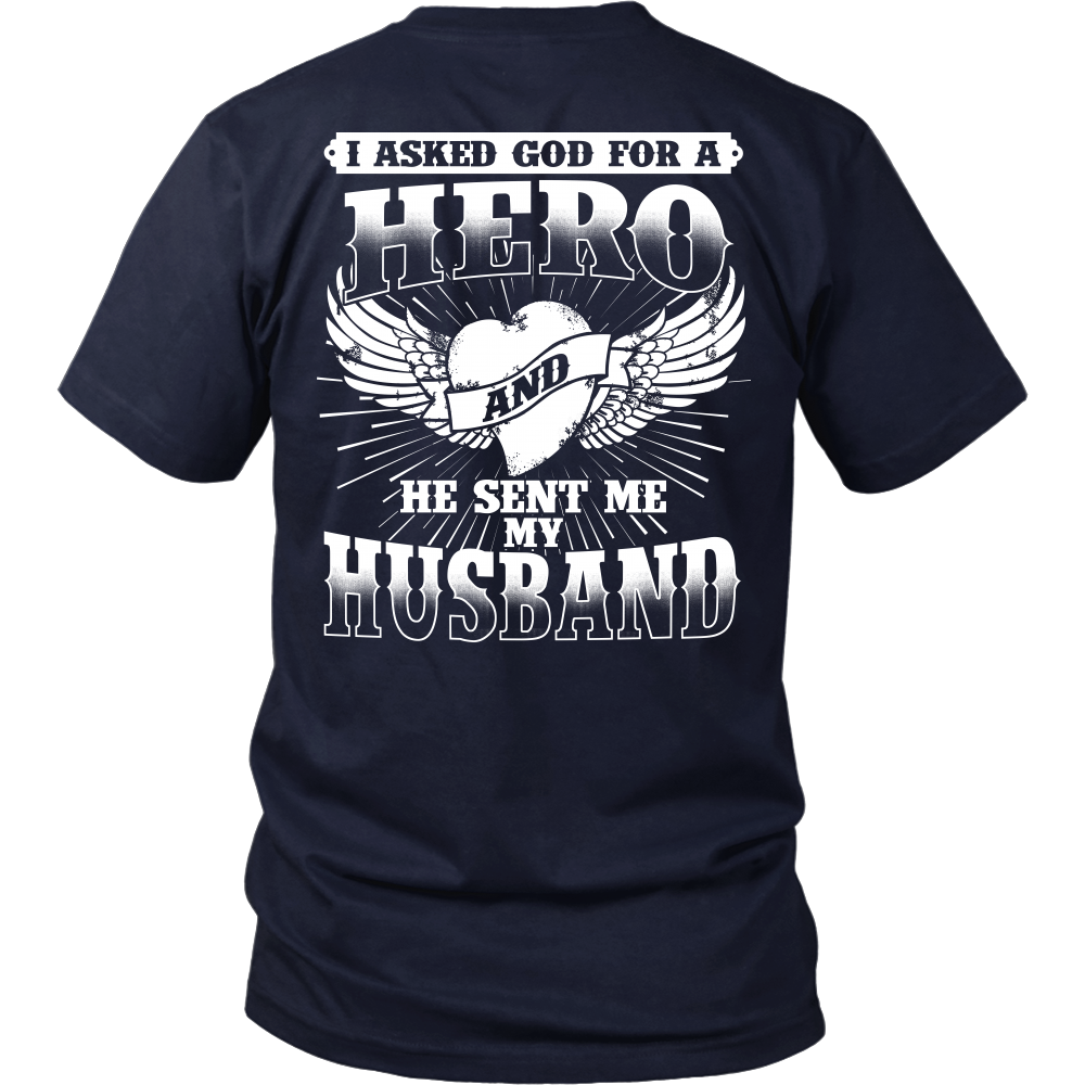 """Hero Husband"" Shirt"