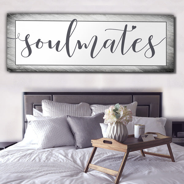 soulmates massive extra large panoramic bedroom canvas wall art