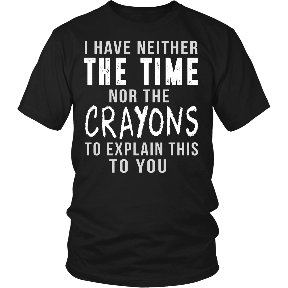 """Time/Crayons"" Shirts"