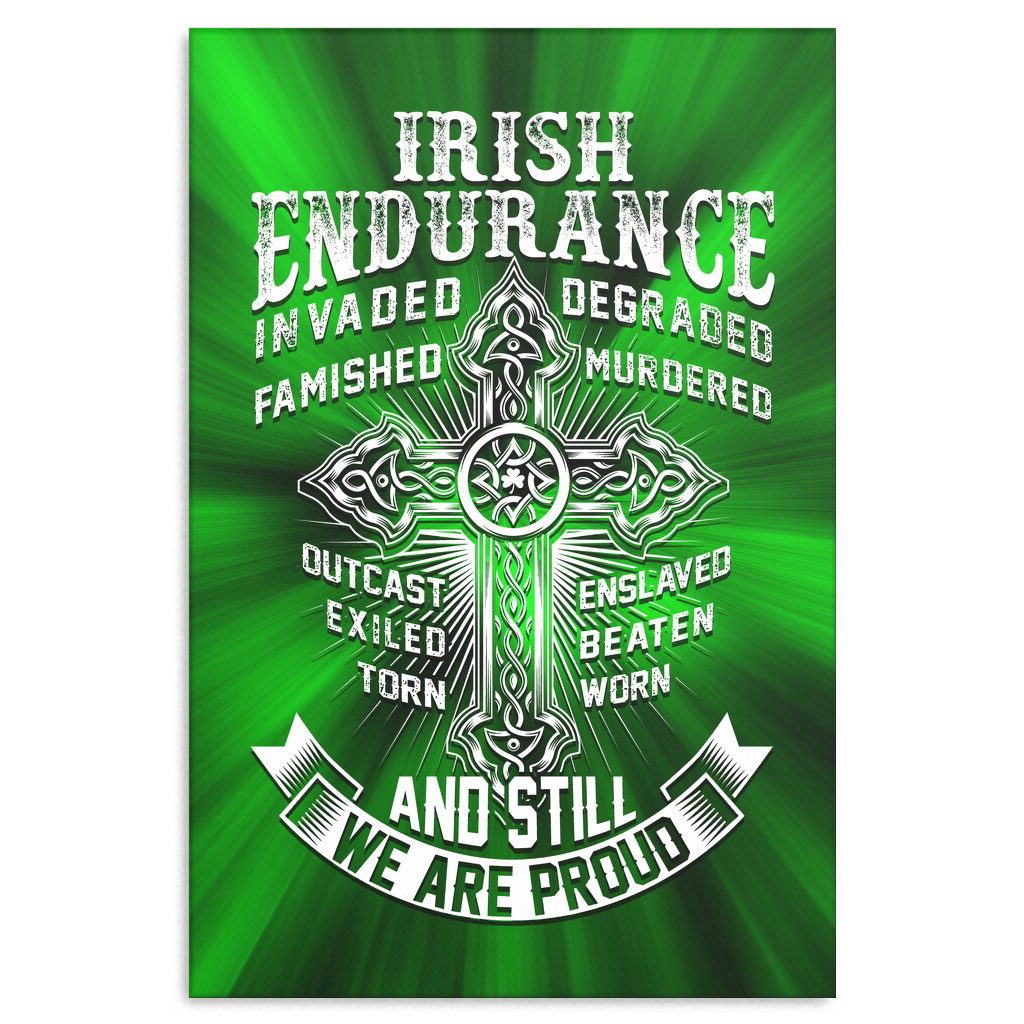 """Irish Endurance"" Premium Canvas"