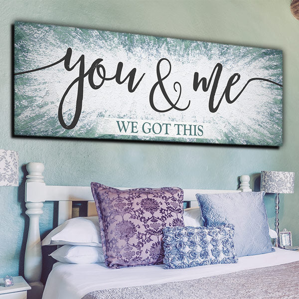 you and me we got this massive panoramic canvas wall art
