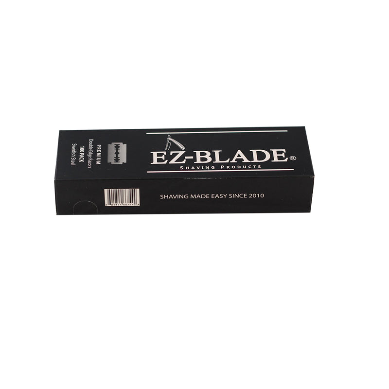 Double Edge Razors Blades 100 pcs - EZ BLADE Shaving Products
