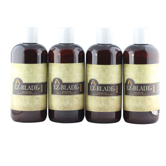 4 Pcs / 16 oz Shaving Gel