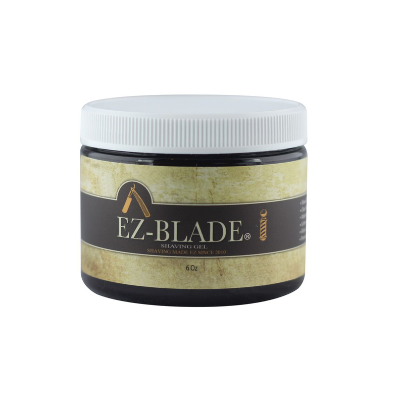 Shaving Gel 6 Oz - EZ BLADE Shaving Products