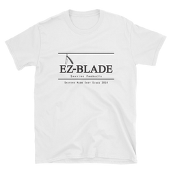 EZ BLADE White T-Shirt - EZ BLADE Shaving Products