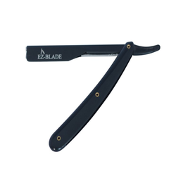 Pitch Black Straight Razor - EZ BLADE Shaving Products