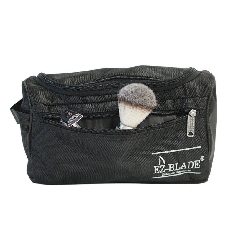 Safety Razor Wet Shave Kit / Toiletry Bag