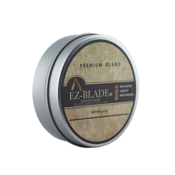 Shaving Soap 4 Oz - EZ BLADE Shaving Products